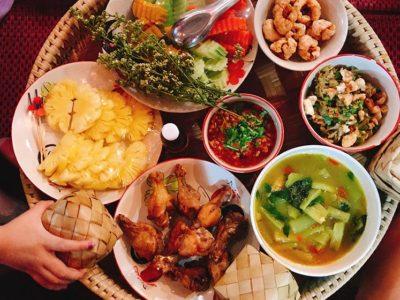 platos de comida tailandesa