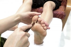 Curso Thai de pies