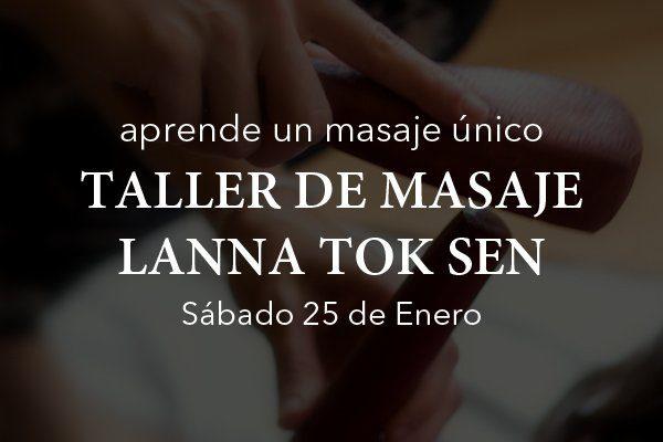 Taller de masaje Lanna Tok Sen